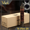 VapLlife wooden e-cigarette smokjoy mechanical mod N fire 2s mod/ wooden cigarette pipe