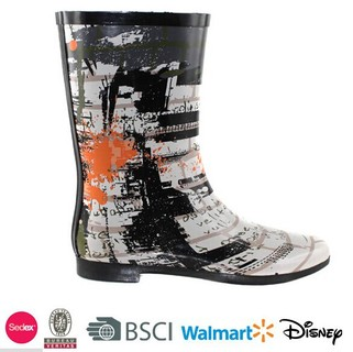 short rubber snow shoes for woman