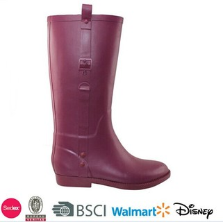 China cheap rubber boots with buckle