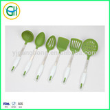 Nylon kitchen utensils with soft handle