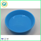 Hot sale round shape silicone cake pan