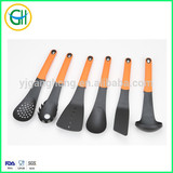 Nylon kitchen tool set with soft handle