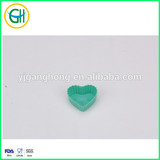 Hot sale mini heart shaped silicone cake mold