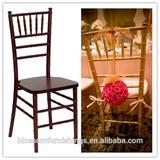 Top quality wooden wedding white chiavari chairs