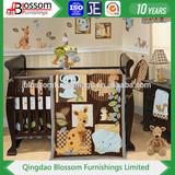 Wood baby cot