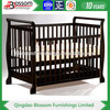 3 in 1 New Zealand pine wood baby crib