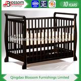 3 in 1 New Zealand pine wood baby crib