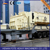 Wheel Mobile Impact Crusher for sale