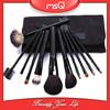 MSQ Fashion 11 pcs Classic Black Cosmetics Brushes Set