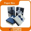 custom logo printing fancy cardboard lid and bottom box gift box