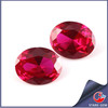 Synthetic Pigeon Blood Ruby Oval Shape Gemstone