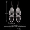 925 sterling silver jewelry wholesale earring made in jewelry factory