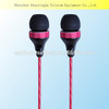 New arrival earphone / headphone super bass metal earphone with Mic