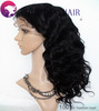 HOT!Top Quality Glueless Full Lace Wigs Indian Remy Hair Body Wave Nature Color Baby hair around 10-20 inch,Goddess Hair