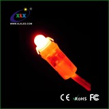 mini led string light red pvc wire 12mm