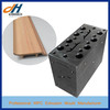 WPC PVC skirting line mould, flooring accessories