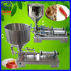 semi automatic paste piston filling machine