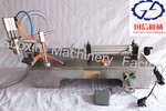 semi automatic can filling machine for liquid