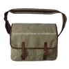 Fashion cotton canvas durable sports bag leisure shoulder bag