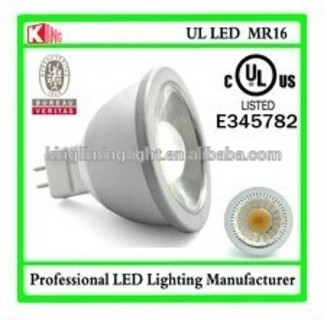 GU5.3 12v dimmable mr16 gu5.3 led bulb cob dimmable