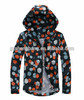 2014 fashion autumn hooded Windproof ,design and colour jacket