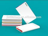8000mah private model super slim power bank with CE&RoHs&FCC