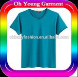 Plain v neck t shirt for s*x man tight body t shirt cool street t shirt
