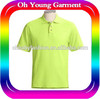 Fashion polo shirt cheap selling usa market young man tube polo shirts