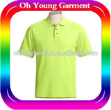 Fashion polo shirt cheap selling usa market young man tube polo shirts