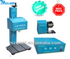 2014 NEW! Low Price Good Quality China Nameplate Bearing Flange Machinery Metal Spare Dot Peen Pneumatic Marking Machine