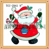 Merry Christmas New Year Vinyl static pvc halloween window sticker