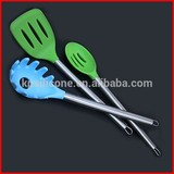 stainless steel kitchen utensils combine silicone any nylon functions head