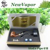 e cigarette glass cartomizer wooden e pipe 618 with packing box