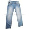 CJ-018-E1 denim jeans fabric factory button ladies clothing factory