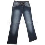 CJ-019-E1 denim jeans material fashon designer ladies clothing