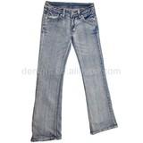CJ-033-E1 ladies fashion clothes plus size used jeans pants