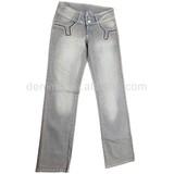 CJ-041-E1 women fashion cotton spandex jeans casual clothes