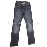 CJ-044-E1 high waist dark blue cheap colored sexy skinny jeans for women