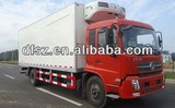 DongFeng vegetable chiller truck with Cumins engine