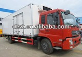 DongFeng vegetable refrigerated wagon with Cumins engine