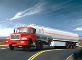 Aluminium alloy oil tank trailer