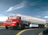 Aluminium alloy fuel trailer