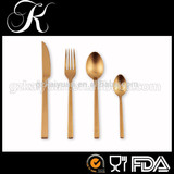 use wedding flatware,quality cutleries,golden flatware