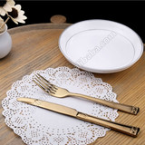 gold spoon,gold tableware,gold cutlery