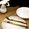 gold plated flatware,gold stainless flatware,gold plated cutlery