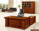 Classical Simple Style Office Furniture Walnut Wood Executive Desk (FOHS-A2223)