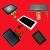 High quality 2.4 inch to 7 inch touch screen lcd module , capacitive touch module