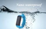 waterproof bluetooth wristband pedometer