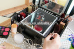 travel kit, make up box with lighting tube (F9500K) black board