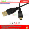 Gold-plated connectors Micro 5p USB 2.0 cable